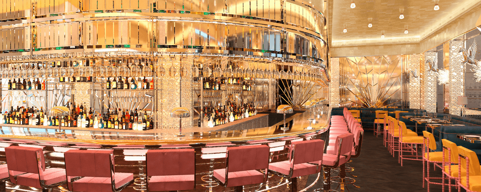 Restaurant and Bar in Selfridges, Brasserie of Light, Oxford Street