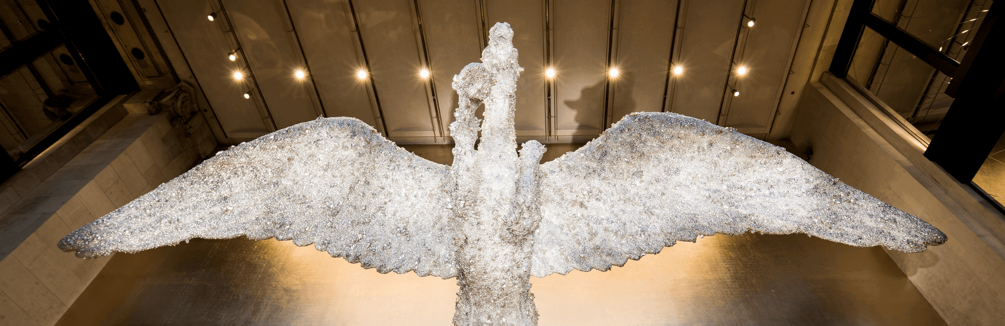 Damien Hirst Pegasus at Brasserie of Light